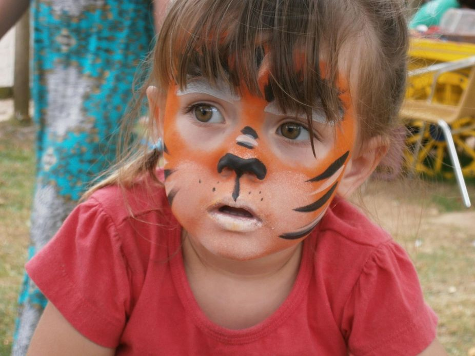 This is my eldest granddaughter, i took a lot of photos at our visit to our local zoo and this 1 ...