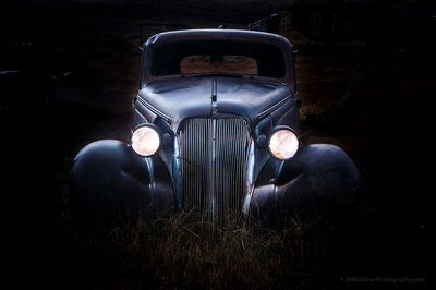 1937 Chevrolet at Twilight