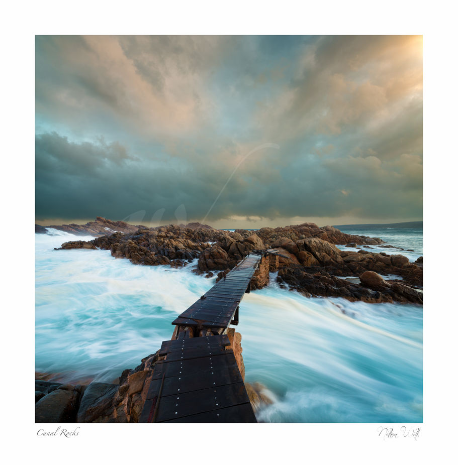 Canal Rocks by nathanwillsphotography - Boardwalks Photo Contest