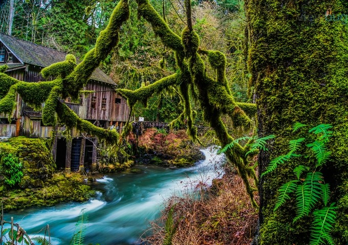Grist Mill by jamesvcase - Nature In HDR Photo Contest