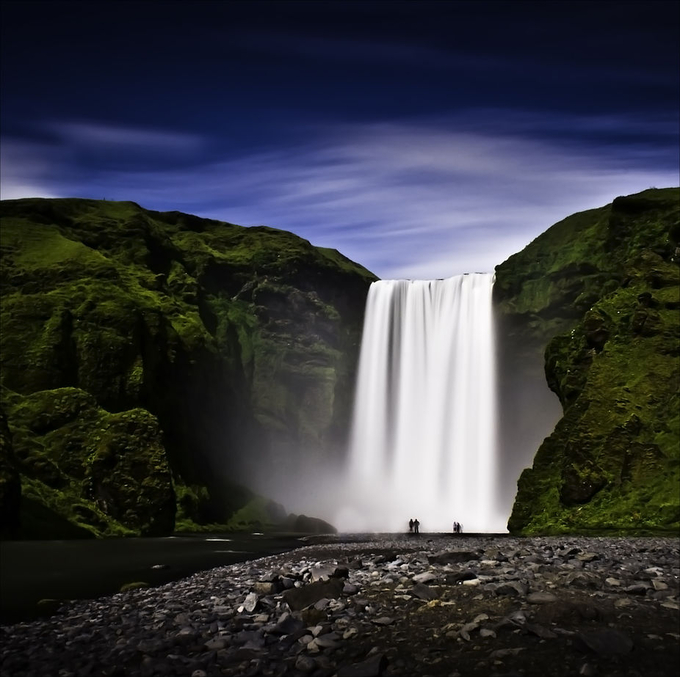 Skógafoss by HeidaHB - Beautiful Waterfalls Photo Contest