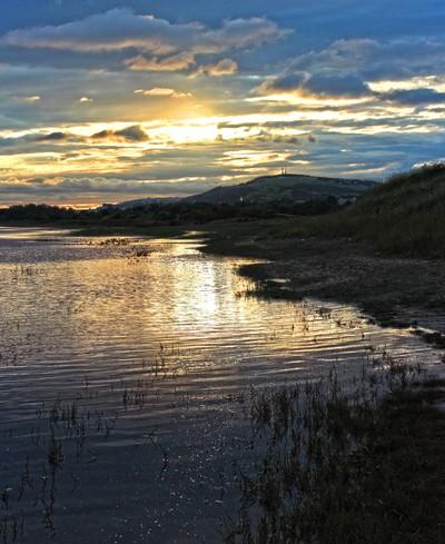 Crymlyn Burrows Sunset