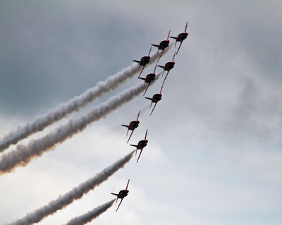 RAF - The Red Arrows