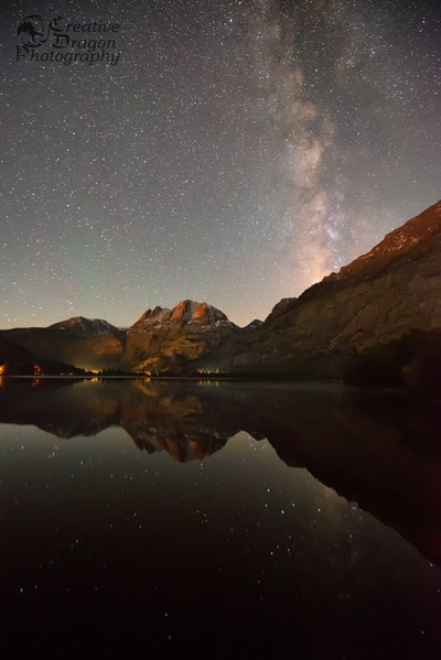 Milky Way Over Silver Lake