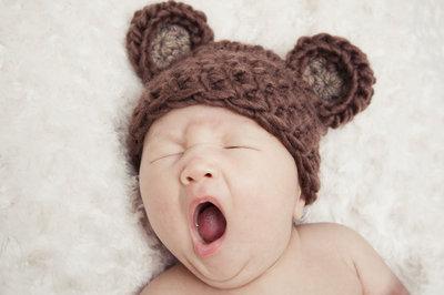 Tired Little Bear!