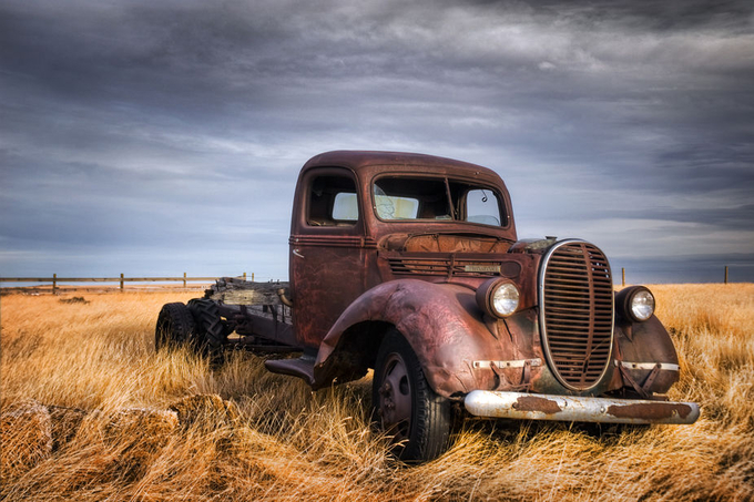 Spare A Bullet by Wayne-Stadler-Photography - Trucks Photo Contest