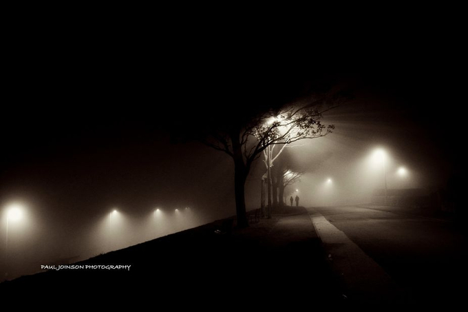 walk in the mist by pauljoinson - Lost In The Fog Photo Contest