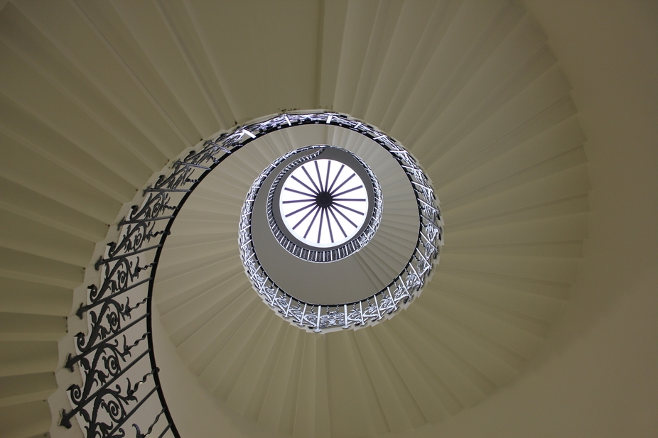 no post processing At Queens House in Old Royal Naval College in Greenwich