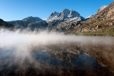 Silver Lake Sunrise and Fog