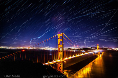 Golden Gate Light Show