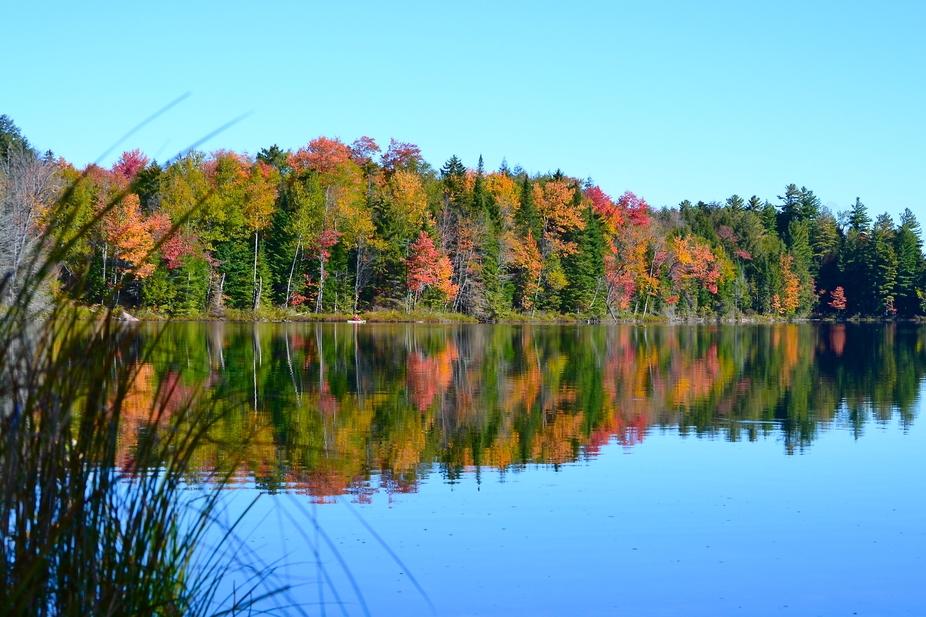 Autumn Adirondack Pond