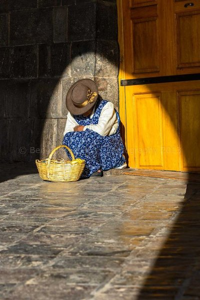 Cusco Street Seller (Peru)