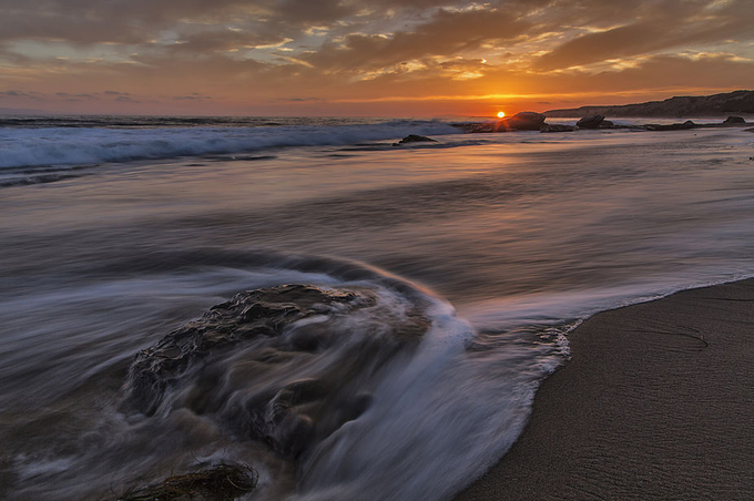 Crystal Cove Sunset by patrick9x9 - We Love The Summer Photo Contest