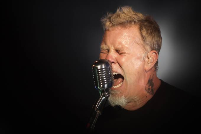James Hetfield by bitterer - Male Portraits Photo Contest