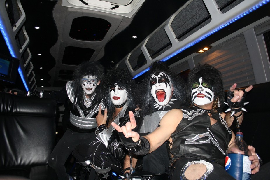 Kiss Living the high Life on Halloween in Edmonton