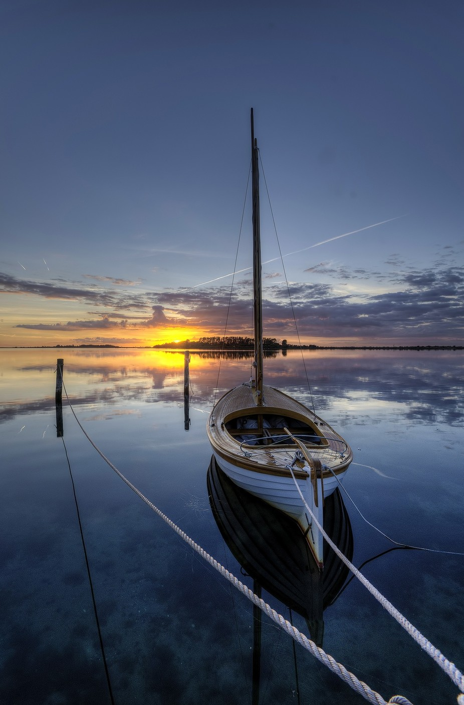 Waiting for a new day by kimschou - Ships And Boats Photo Contest