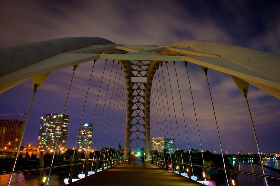 Humber Bay Bridge, Toronto, On