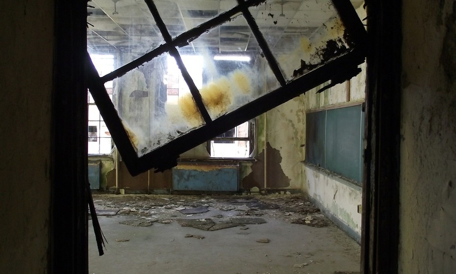 From an abandoned high school in Tn.