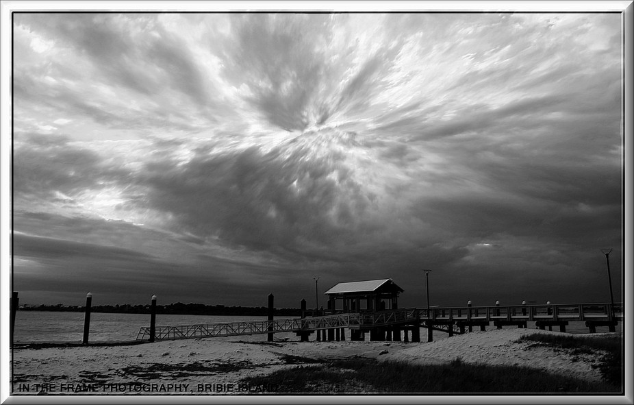 Storm Front, Bongaree Jetty