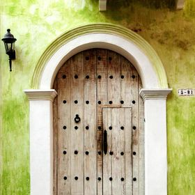 Cartagena Colombia, Spanish Colonial city full of great doors.