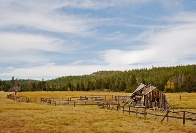Autumn Vista by johnjack - Isolated Cabins Photo Contest