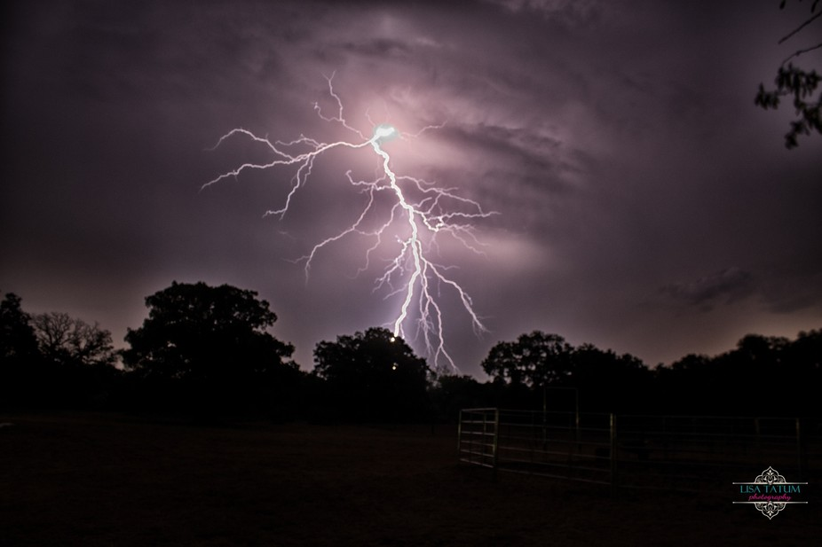 Summer storm in Texas
