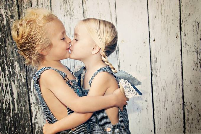 Twin Love by normapatridis - Youngsters Photo Contest