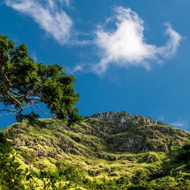 """This is the """"Pico Rodadero"""" at Yauco Puerto Rico it is shy of 3000 ft, on the way up to the top we kept stopping to take photos, but at this spot the view felt 3D and the light was perfect! the view from up top of the rocks is also spectacular!"""