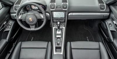 PorscheInteriorFront