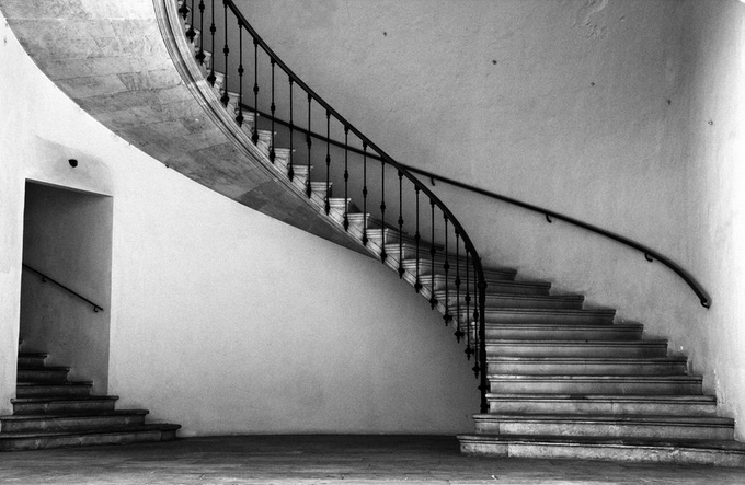 urban shape by ovosphotography - Stairways Photo Contest