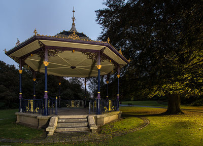 The Bandstand. Lewisvale Park, Musselburgh.