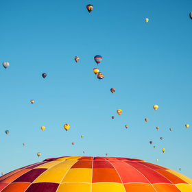 The Albuquerque International Balloon Fiesta in New Mexico is an event that began in 1972 as a 50th birthday celebration for a local radio statio...