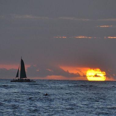 Sunset Collection (15) - Waikiki Sunset
