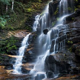 Waterfalls at Valley of Waters, Wentworth Falls, NSW, Australia