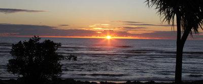 Sunset Tasman Sea