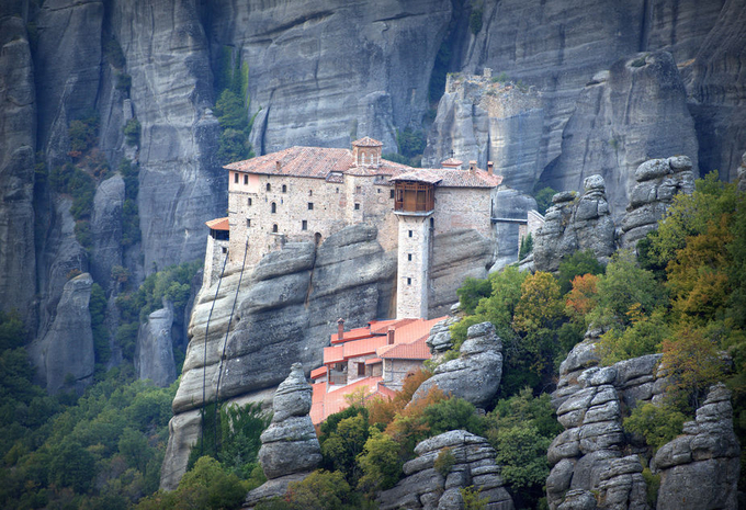 Monasteries at Meteora by timpryce