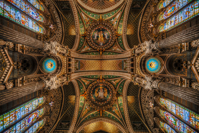 Heaven in Color by bitterer - High Ceilings Photo Contest
