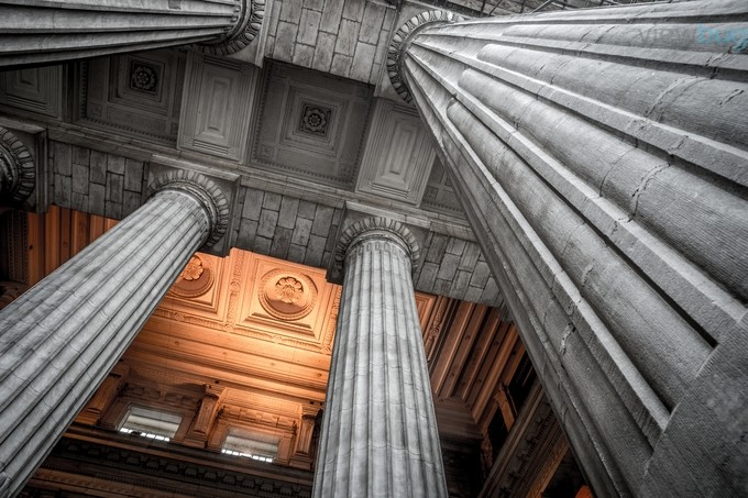 Pillars of power by AnthonyAlpha - Classical Architecture Photo Contest