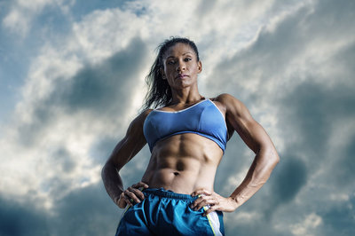 Fitness shoot with Shellane Demarest