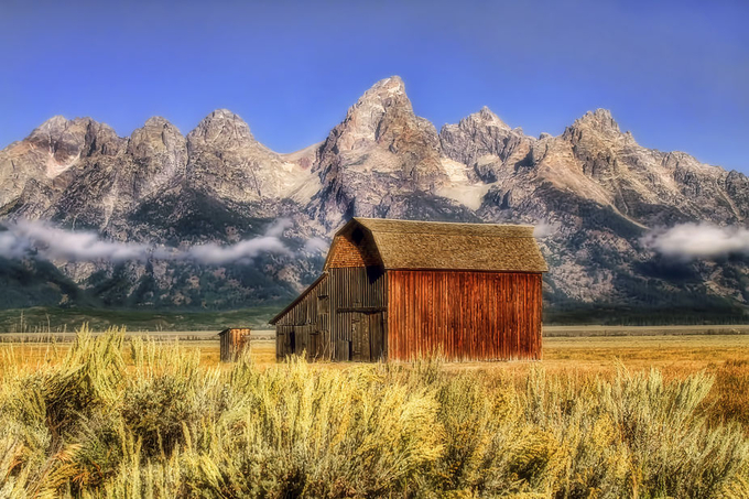 ~ BEYOND THE SAGEBRUSH ~ by jeanalee - Farms And Barns Photo Contest