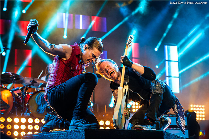 Brent Smith + Zach Myers, Shinedown by lizzys - Music And Concerts Photo Contest
