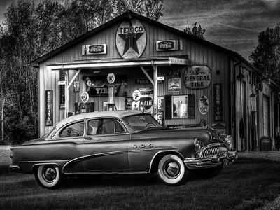 Buick in B&W