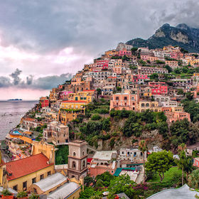 Positano-Rain-is-coming