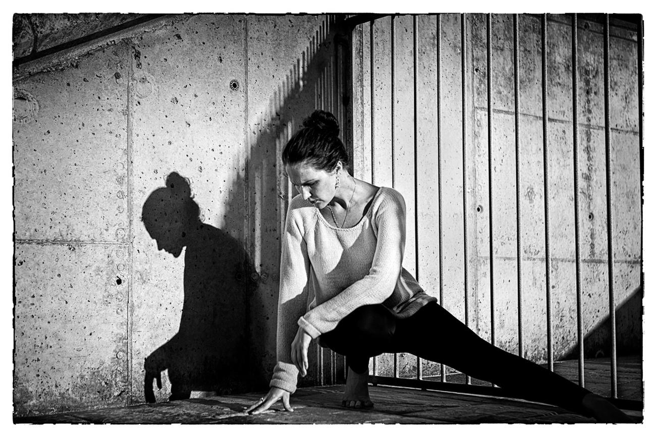 Girl and Shadow