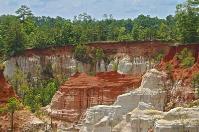 Providence Canyon in HDR