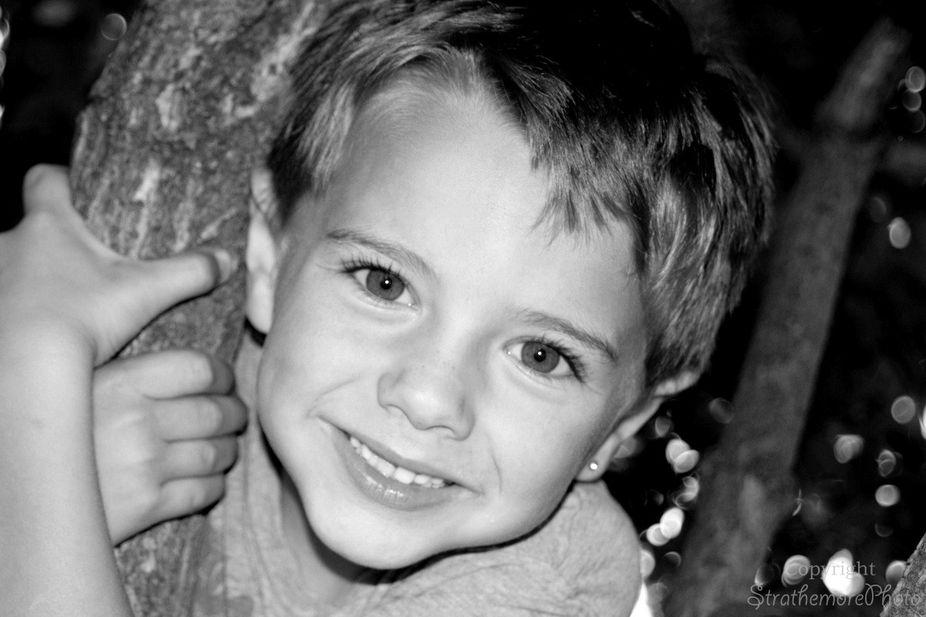 Child photography shot