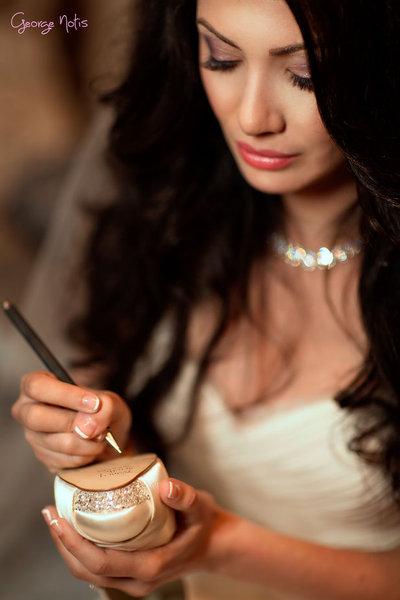 Bride making a list