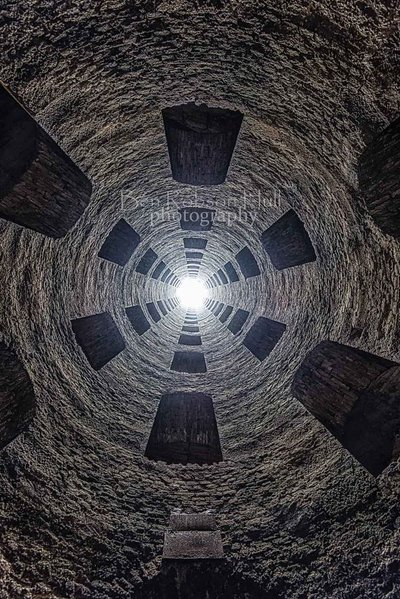 St Patricks Well Looking Up