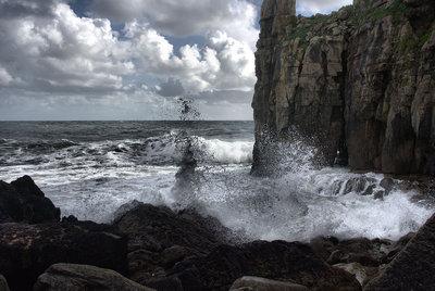 Waves at St Govans