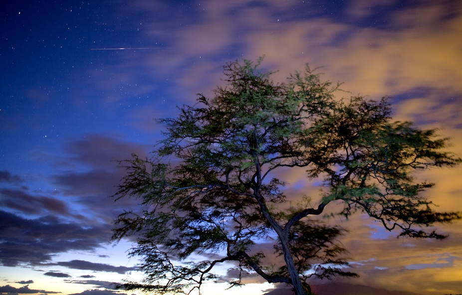 I shot this just after sunset it was my first attempt trying to take long exposures I had a $1.00...